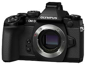 Olympus 奥林巴斯 OM-D E-M1 微型单电机身 (黑色)(5轴防抖 内置WiFi 可翻转触摸屏 防尘防水溅防冻 内置可拆卸闪光灯和16G卡)