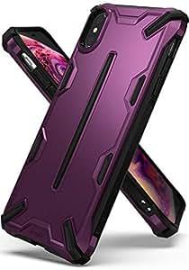 适用于 iPhone Xs Max 的 Ringke Dual-X 变体RDLX-IPXSP-MP 金属紫色