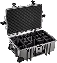 B&W TYPE 6700户外保护套适用于相机带加垫隔层?–?黑色