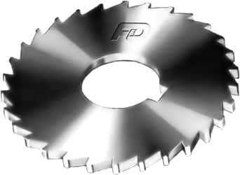 F&D Tool Company 14720 单色开锯,高速钢,直径 4 英寸,表面宽度 7/64 英寸,36 齿,1 英寸孔尺寸