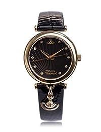 Vivienne Westwood 薇薇安维斯特伍德 英国品牌 石英手表 女士腕表 VV108BKBK
