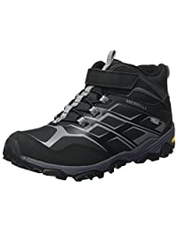 Merrell 男孩毫升 - B MOAB FST MID A/C Artic 徒步 - & 远足靴