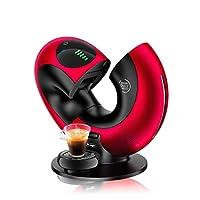 De'Longhi 德龍 EDG736.RM 膠囊咖啡機 NESCAFé Dolce Gusto Eclipse,可制備冷熱飲,15 bar的泵壓,可制備香柔奶沫,觸屏傳感,金屬紅色