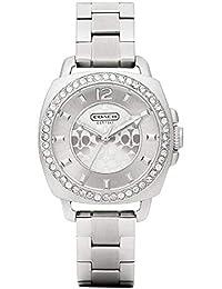 Coach 女士 14501699 迷你男友银色手表