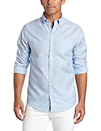 Lee 男式长袖牛津衬衫