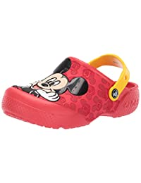 Crocs 卡骆驰儿童趣味实验室米奇洞鞋
