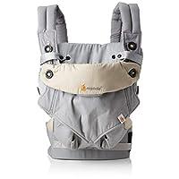 Ergobaby 捆绑包 - 2 件商品:灰色所有 Carry Position *品中* 360 婴儿背带和易舒适婴儿内嵌,灰色