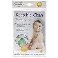 Summer Infant Keep Me Clean 保持我清洁一次性尿布袋旅行包,75件