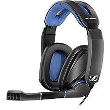 Sennheiser 森海塞爾 GSP 300游戲耳機,具有降噪麥克風,翻轉靜音,舒適的記憶泡沫耳墊,適合PC,Mac,Xbox One,PS4,Nintendo Switch和智能手機的耳機
