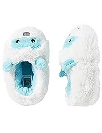 Carter's 中性款怪物拖鞋,XL 码 (11/12),白色/蓝色