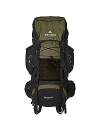 TETON Sports Scout 3400 內框背包;高性能背包,適用于背包、徒步、露營