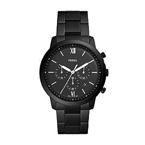 Fossil 男士计时石英手表 不锈钢表带 FS5474