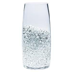 Cosmo Beads (Tm) 品牌花式零售包装:1 磅(12 加仑)透明彩色水晶土壤水珠