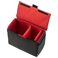HAKUBA 相機包 內層軟盒02 300 分隔可調節 側把&帶可拆卸的蓋 黑色 2KCS-40-300BK