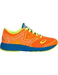 ASICS Noosa FF GS 儿童跑步鞋 Shocking Orange/Flash Yellow 3.5 M US 儿童