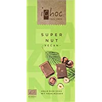 Vivani Organic Super Nut Chocolate Bar 80 g (Pack of 10)