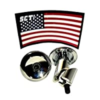 SCT USA 踏板车和自行车铝杆端塞