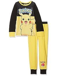 Pokemon 精灵宝可梦 男孩款皮卡丘睡衣套装