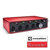 Focusrite 焦點燈 音頻接口 18針/8輸出 24bit/192kHz Scarlett 18i8 (3rd Gen) 帶貼紙套裝 【國內正品】