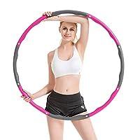 Anyasun 加重箍女式*健身器材,燃烧*卡路里可移动设备用于健身和塑身