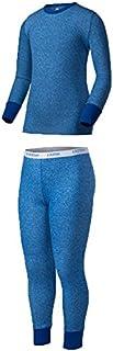 Indera 青年性能涤纶罗纹针织套装 大 蓝色 091641169959