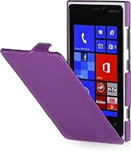 StilGut 超薄,诺基亚 Lumia 920 真皮手机壳 紫色