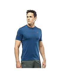 【2019春夏新品】【瑞典Polygiene银离子抗菌技术】Salomon 萨洛蒙 跑步系列 男士 短袖T恤 XA TEE M LC1035400