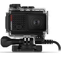 Garmin VIRB Ultra 30 坚固电源版动作摄像头,带外部电源 - 4K 超高清,触摸屏,语音控制