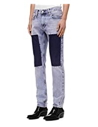 Calvin Klein 男式印 CKJ 026修身牛仔裤