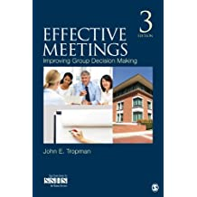 Effective Meetings: Improving Group Decision Making (SAGE Human Services Guides Book 17) (English Edition)