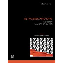 Althusser and Law (Nomikoi: Critical Legal Thinkers) (English Edition)