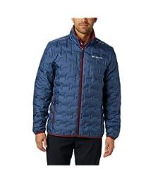 Columbia 男士 Delta Ridge 羽绒冬夹克,隔热,防水