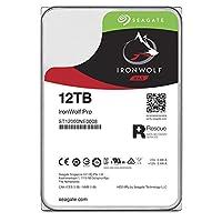 Seagate 巴拉Cuda SSDST12000NE0008 HDD : データ復旧付きNAS向け HDD : 12TB