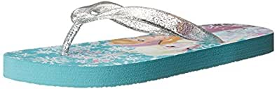 Disney Disney Frozen Elsa Flip Flop (Toddler/Little Kid), Blue, 7 M US Toddler