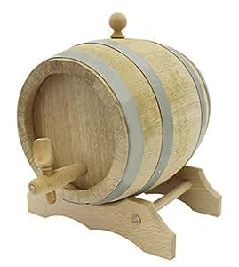 Paderno World Cuisine 橡木桶 带螺栓和支架,米色 米色 1Ltr 5090
