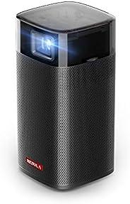 Anker Nebula Apollo,Wi-Fi迷你投影儀,200ANSI 流明便攜式投影儀,6W揚聲器,電影投影儀,100英寸圖片,4小時視頻播放時間,整潔投影機,家庭娛樂——隨時隨地觀看