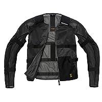 Spidi IT Airtech 盔甲网面夹克黑色 - 特殊订单 L 黑色 T177-026