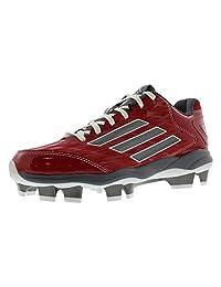 adidas Performance 女式 PowerAlley 2 TPU W 垒球鞋钉
