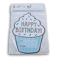 纸杯蛋糕形状课堂生日证书 - 30 张