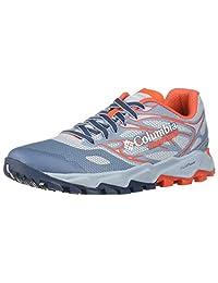 Columbia Montrail 女士 Trans ALPS F.K.T. II Trail 跑鞋 Mirage, Red Quartz 8 M US