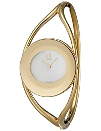 Calvin Klein 卡尔文克莱恩 美国品牌 瑞士制造 石英女士手表 K1A2381G (亚马逊进口直采)