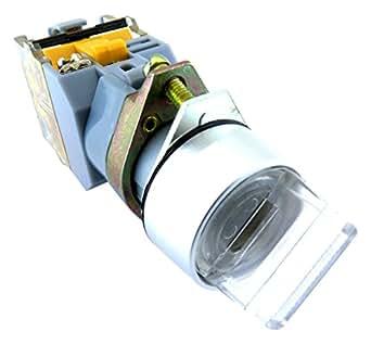 YuCo YC-SS22XPMA-I3W-2 照明选择开关,白色