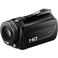 DXG DXG-5K1 HD 5.0MP 1080p 高清 Pro 齿轮 DXG-5k1 数码摄像机 带 3 英寸 LCD (黑色)(制造商已停产)