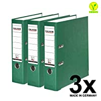 Falken PP 彩色塑料文件夹3件和5件装 3er Pack breit 绿色