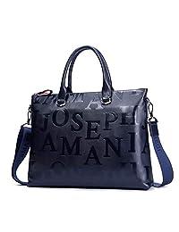卓梵 阿玛尼 男包 手提包 横款 大包 牛皮 真皮包 商务 电脑包 男士 公文包 休闲 商务 字母