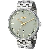 Vestal 女式 'ROOSEVELT METAL' 石英不锈钢礼服手表,银色调(型号:RS42M10.5SVX)