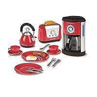 Casdon Morphy Richards 厨房套装玩具 - 水壶、烤面包机和咖啡机