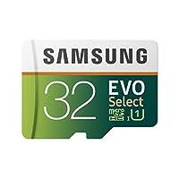 Samsung 三星 MB-ME32GA/AM 記憶卡 32 GB MicroSDHC EVO Select 帶適配器 32 GB