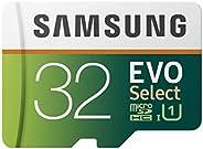 Samsung 三星 MB-ME32GA/AM 记忆卡 32 GB MicroSDHC EVO Select 带适配器 32 GB