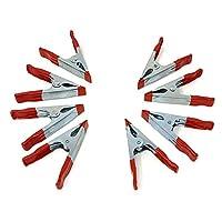 多用途 10.16 X 12.70 cm 红色金属弹簧夹钳带 PVC 涂层笔尖和手柄钳子 开口 3.81 cm 批发散装